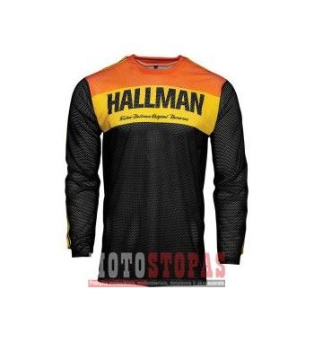 THOR-HALLMAN marškinėliai JRSY HALLMN AIR BK/OR