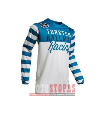 THOR-HALLMAN marškinėliai JRSY S20 HLMN RINGR BL