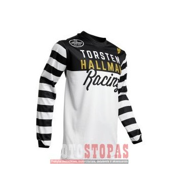 THOR-HALLMAN marškinėliai JRSY S20 HLMNRNGR B/W