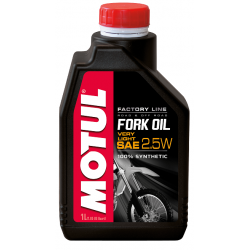 Alyva šakėms MOTUL FORK OIL VERY LIGHT F.L 2.5W 1L