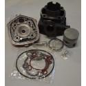 Cilindro kompl. su galva  70cc, 47 мм, Yamaha Aerox / Jog RR / Aprilia SR Malagutti F12/F15, Minarelli LC