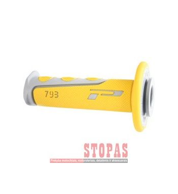 PRO GRIP RANKENĖLĖS Gray| Yellow