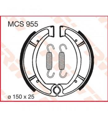 Stabdžių trinkelės Būgnams TRW Lucas MCS955 YAMAHA