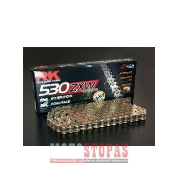 RK Grandinė GB530ZXW 118 LINK 530 XW-RING CHAIN / GOLD/BLACK / STEEL