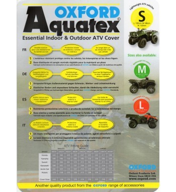OXFORD Uždangalas Aquatex ATV L