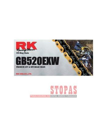 RK Grandinė EXW 118 CLIP LINK 520 W-RING OFF-ROAD