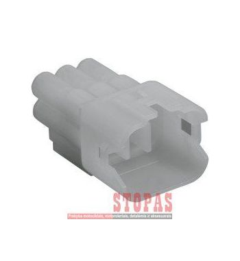 NAMZ HM SEALED SERIES MALE CONNECTOR 6-POSITION