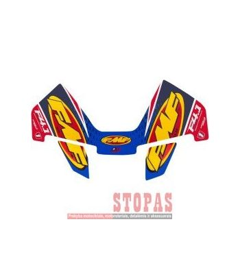 FMF DECAL REPLACEMENT FACTORY 4.1 RCT CRF DUAL CAN WRAP LOGO