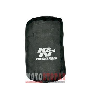 K & N AIR FILTER WRAP ROUND TAPERED BLACK