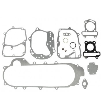 VARIKLIO TARPINIŲ KOMPL. 4T Gy6-50 Silnik 139Qmb (KORPUSO ILGIS 460Mm)