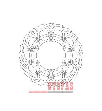 MOTO-MASTER Stabdžių diskai KTM/HUSQVARNA