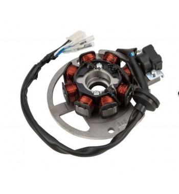 "Generatorius Stator 2T Minarelli varikliams ir ""Kinijos motoroleriui 2T"" Yamaha Jog / Cpi / Keeway /"