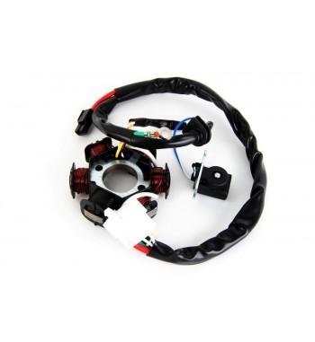 generatorius 2T Honda Dio Af27/Peugeot/Kymco Zx/Sym (Be magnetinio rato)