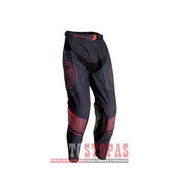 MOOSE RACING SOFT-GOODS Kelnės Black/Red - 38