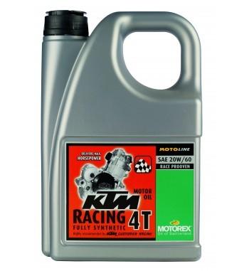 Motorex 20W60 KTM RACING 4T 4l