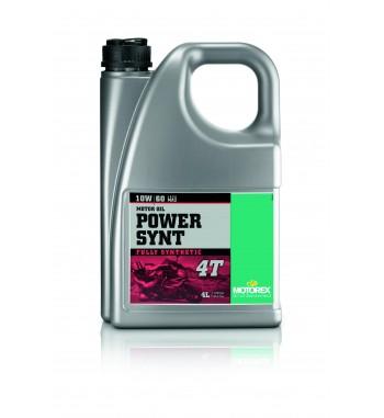 Motorex 10W60 POWER SYNT 4T JASO MA 2 4l