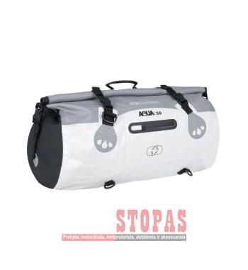 Bag (50L) AQUA 50 OXFORD colour grey/white
