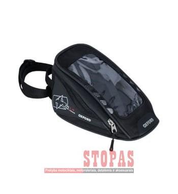 Tank bag (1L) M1R MICRO TANK BAG OXFORD colour black (dimensions: 24x14x18)
