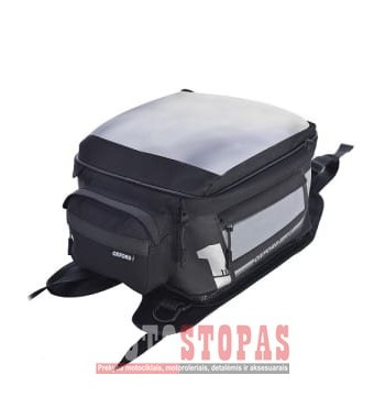 Bag (18L) F-1 S18 OXFORD colour black/grey