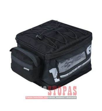 Motorcycle rear bag F-1 S18 OXFORD colour black