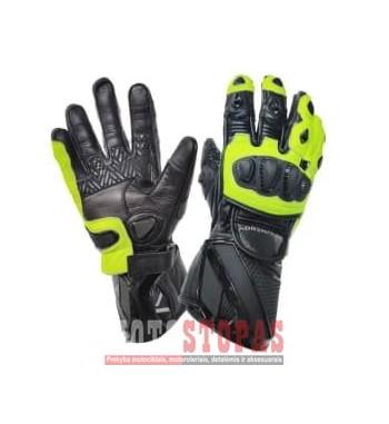 Pirštinės Sportiniai ADRENALINE LYNX SPORT PPE spalva fluorescentinis/geltona/juoda, dydis 2XL