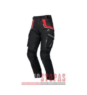Kelnės MOTERIŠKOS  Tekstilė ADRENALINE ORION LADY PPE Turistiniai spalva juoda, dydis 2XL