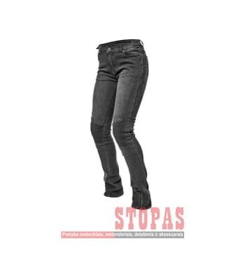 Kelnės MOTERIŠKOS  Džinsiniai ADRENALINE ROCK LADY PPE džinsai spalva juoda, dydis L