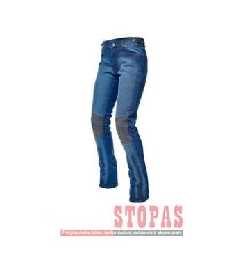 Kelnės MOTERIŠKOS Džinsiniai ADRENALINE ROCK LADY PPE džinsai spalva mėlyna, dydis 2XL