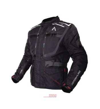 Striukė tekstilė ADRENALINE ORION PPE spalva juoda, dydis 2XL