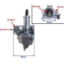 Karbiuratorius 125cc SHINERAY XY125-10D