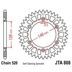 Galinė žvaigždė GROSSKOPF 48T Aliuminė JTA808,48