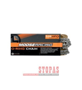 MOOSE RACING HARD-PARTS CHAIN 520-HPO / 112 LINKS / O-RING / STEEL