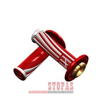 ODI EMIG PRO V2 LOCK-ON SOFT GRIP RED/WHITE