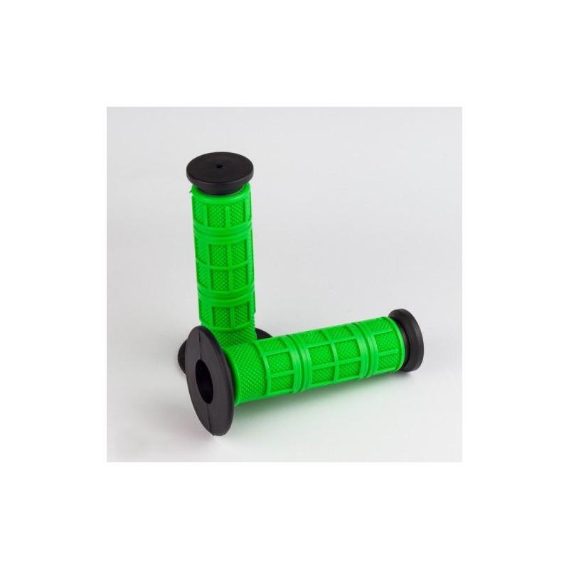 Guminė rankenėlė, juoda/žalia