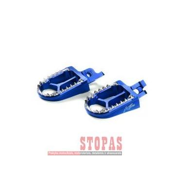 KITE FOOTPEGS MX-EN ALUMINIUM CUSTOM REPLACEMENT BLUE