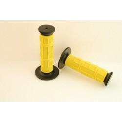 Guminės rankenėlės,juoda/geltona