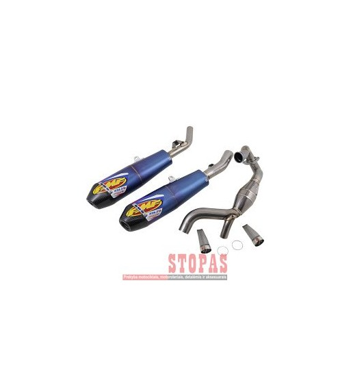 FMF EXHAUST SYSTEM 4.1 RCT TITAN/CARBON