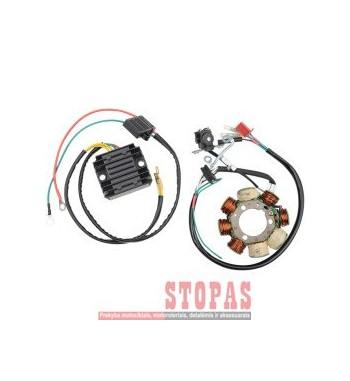 MOOSE RACING HARD-PARTS STATOR AND REGULATOR / RECTIFIER