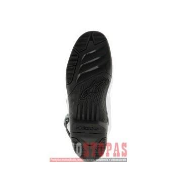 ALPINESTARS(MX) TECH 5/TECH 3 DUAL COMPOUND SOLE BLACK 15