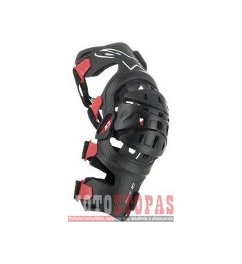 ALPINESTARS(MX) kelių apsauga BLACK/RED SMALL