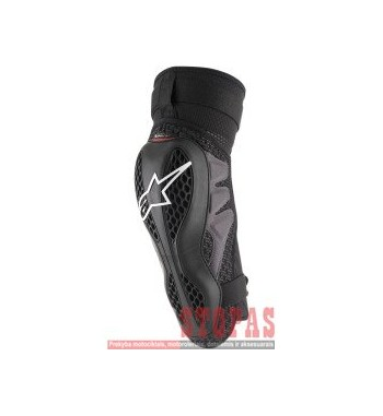 ALPINESTARS(MX) SEQUENCE OFFROAD KNEE PROTECTOR BLACK/RED 2X-LARGE