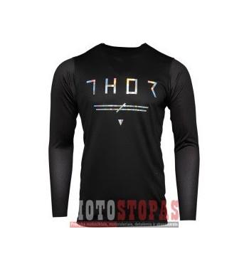 THOR marškinėliai JRSY PRM PRO UNRIVL BK SM