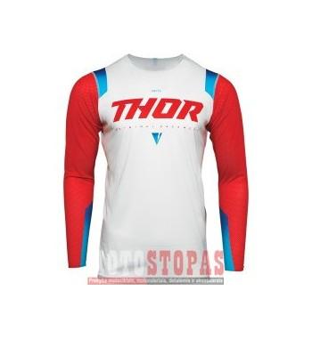 THOR marškinėliai  JRSY PRM PRO UNITE RED SM