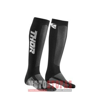 THOR kojinės YOUTH MX COOL S9Y SOCK BLACK/CHARCOAL 1-6