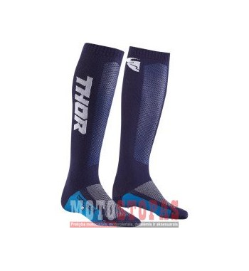 THOR kojinės YOUTH MX COOL S9Y SOCK NAVY/WHITE 1-6